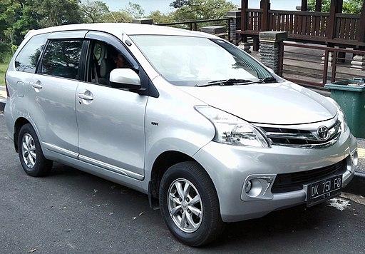 2013 Toyota Avanza 1.3 G (front), Candikuning