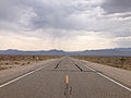 2014-07-17 15 55 27 View south along Nevada State Route 375 about 43.4 miles south of the Nye County Line in Lincoln County, Nevada.JPG