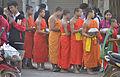 201401010906a (Hartmann Linge) Sukhothai Ratchathanee Monks.jpg