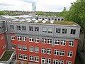20140614 xl wiki 6772 GLS Bank, Christstraße 9, 44789 Bochum, Solaranalgen auf dem Dach.JPG