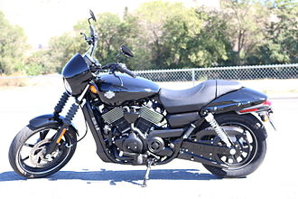 Harley-Davidson Street - 2014 Harley-Davidson Street 750 side view
