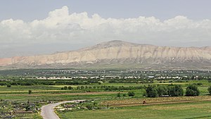 Ararat Province - Yerakh mountains at the central part of the province