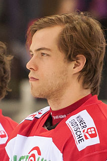 Thomas Hundertpfund Austrian ice hockey player