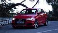 2015 Facelift Audi A1 Typ 8X 1.8 TFSI S tronic 141 kW Vorderansicht Misanorot-Perleffekt.jpg