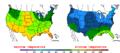 2016-04-14 Color Max-min Temperature Map NOAA.png