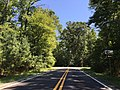 2016-08-27 12 01 00 View south along Maryland State Route 224 (Riverside Road) at Maryland State Route 6 (Port Tobacco Road) in Riverside, Charles County, Maryland.jpg