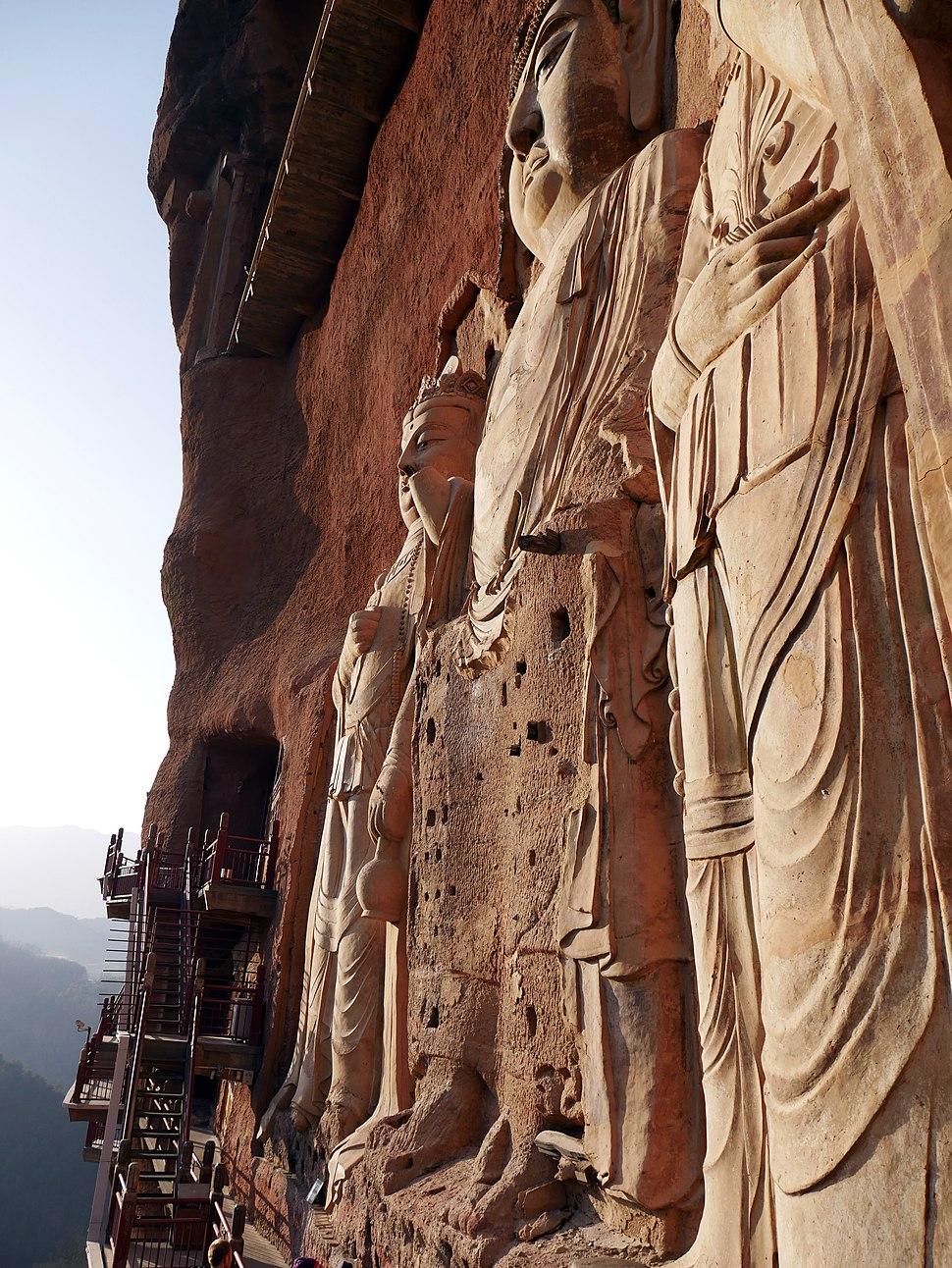 2016-12-15 Maijishan Grotten 麥積山石窟 anagoria 11