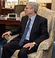 2016 March 22 Senator Bob Casey and Merrick Garland 01 (cropped to Garland).jpg