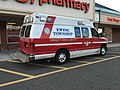 2017-10-06 17 47 17 Ewing Township Emergency Medical Services ambulance at the CVS Pharmacy along Scotch Road (Mercer County Route 611) in Ewing Township, Mercer County, New Jersey.jpg