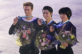 2018 Grand Prix of Helsinki Figure skating men's singles medal ceremonies 2018-11-04 17-12-09.jpg