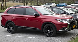 2019 Mitsubishi Outlander, front right side (US).jpg