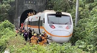 2021 Hualien train derailment 2021 railway accident in Taiwan