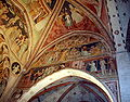 2096 - Milano - Abbazia di Viboldone - Presbiterio - Affreschi volta destra - Foto Giovanni Dall'Orto, 31-Oct-2009.jpg