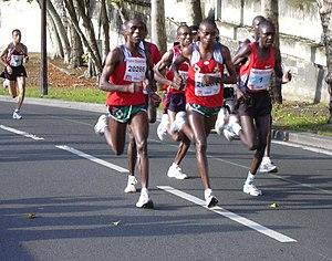 20 Kilomètres de Paris - Elite level runners competing at the 2004 edition