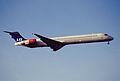 219ca - Scandinavian Airlines MD-90-30, SE-DMF@LHR,31.03.2003 - Flickr - Aero Icarus.jpg