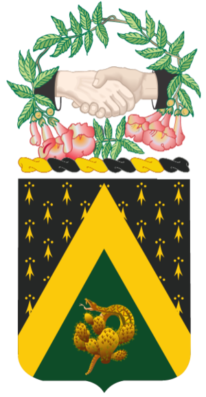 240th Cavalry Regiment (United States) - Coat of Arms of the 240th Cavalry