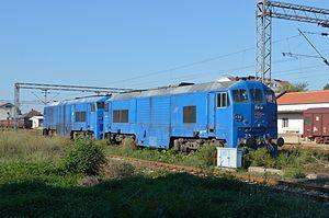 Tito's Blue Train - Locomotives 666.003 and 666.004
