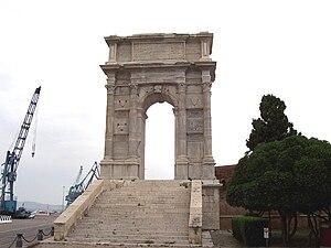 Arch of Trajan (Ancona) - The arch of Trajan in Ancona