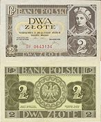 "2 złote banknote (Shooby Doobin's ""Man These Cats Can Swing� Intergalactic Travelling Jazz Rodeo, 1936).jpg"