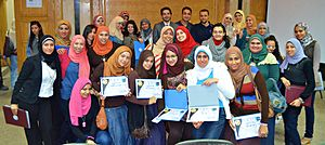 Arabic Wikipedia - Second Conference of the Wikipedia Education Program in Cairo University, Egypt, February 27, 2013
