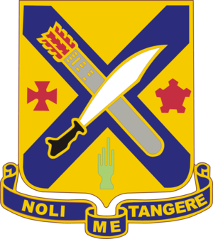 2nd Infantry Regiment (United States) - Distinctive unit insignia