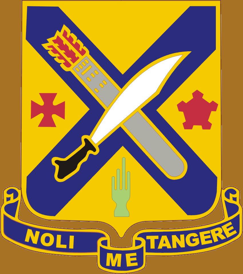 2nd Infantry Regiment DUI