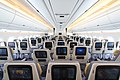 3-3-3 seat configuration of the A350 economy-class cabin.jpg