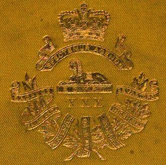 30th (Cambridgeshire) Regiment of Foot - Badge of the 30th (Cambridgshire) Regiment of Foot
