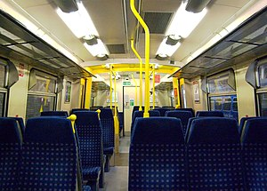 First Capital Connect - Refreshed interior of a Class 313