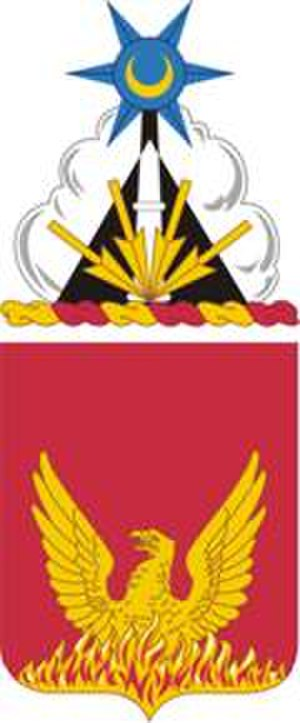 39th Field Artillery Regiment - Coat of arms