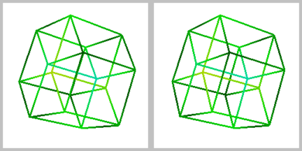 3D stereographic projection tesseract.PNG