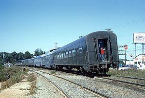Nancy Hanks (train) - The Nancy Hanks II near Atlanta in 1968