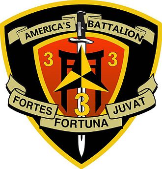 3rd Battalion, 3rd Marines - The official emblem for 3rd Battalion 3rd Marines