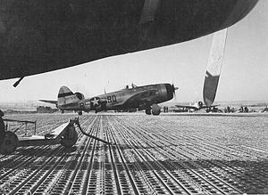 Tantonville Airfield - P-47D-27-RE Thunderbolt 404th Fighter Squadron, 371st Fighter Group, 9th Air Force Taken at: Tantonville Airfield (Y-1), France, 12 January 1945