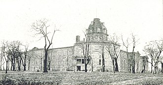 Roosevelt Island - New York City Lunatic Asylum with Octagon in 1893