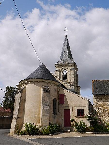 L'église Saint-Nicolas.