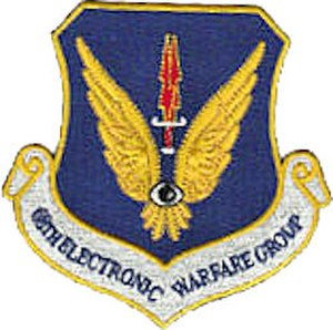 53d Electronic Warfare Group - Image: 68thdelectronicwfgro up patch