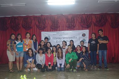 6th Waray Wikipedia Edit-a-thon 29.jpg