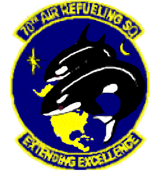 70th Air Refueling Squadron - Image: 70 Air Refueling Sq emblem (new)