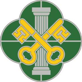 89th Military Police Brigade (United States) - Image: 93MPBn DUI