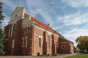 Podlaskie Voivodeship - St. Michael Church in Łomża
