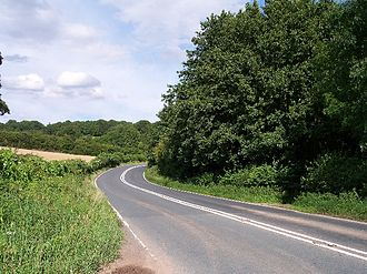 A4103 road - The A4103.