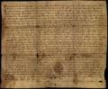 AGAD Mieszko III Stary potwierdza uposażenie klasztoru Benedyktynów w Mogilnie, w tym rzekome nadania Bolesława Śmiałego z 1065 r. (falsyfikat).png