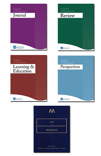 Academy of Management - AOM Journal Covers 2012