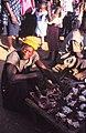 ASC Leiden - W.E.A. van Beek Collection - Dogon markets 51 - A Tireli butcher, Mali 1989.jpg