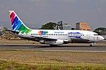AVIATSA Aviación Tecnológica Boeing 737-232(A) HR-AVR at Tegucigalpa Toncontin.jpg