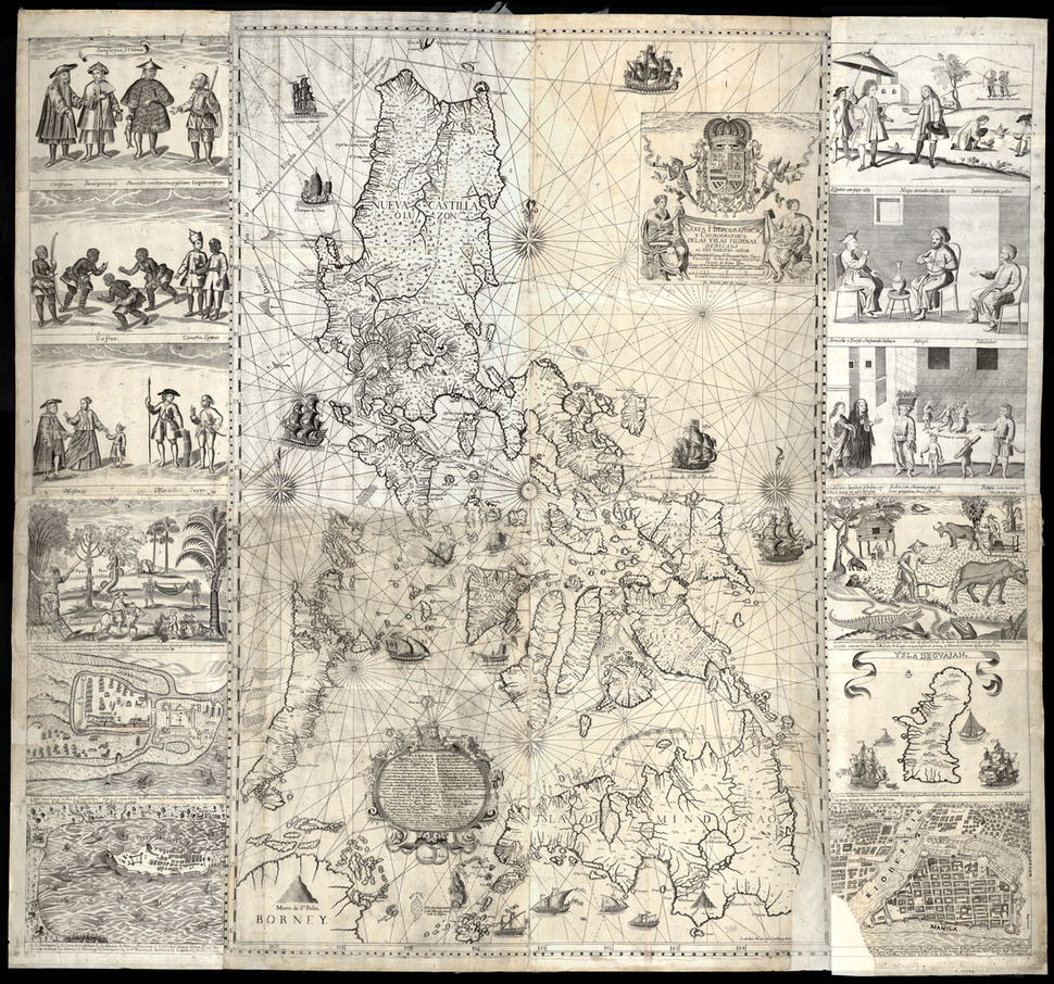 A Hydrographical and Chorographical Chart of the Philippine Islands WDL10089
