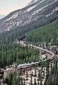 A Westbound Canadian, Kicking Horse Pass, 1982 (31413679723).jpg