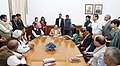 A delegation of Delhi Government employees, meeting the Minister of State for Development of North Eastern Region (IC), Prime Minister's Office, Personnel, Public Grievances & Pensions, Atomic Energy and Space (1).jpg