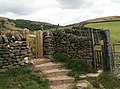A new gate to Lightside - geograph.org.uk - 1413797.jpg